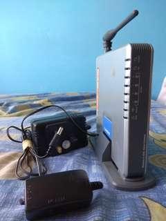 Linksys Wireless-G ADSL Home Gateway x 1