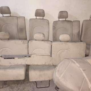 Seat sambung cream passo boon