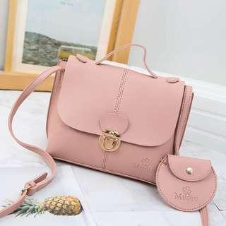 2in1 cute sling bag