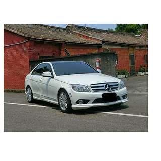 2008年 賓士 C300  白✅0頭款 ✅免保人✅低利率✅低月付 FB搜尋:阿源 嚴選二手車/中古車買賣