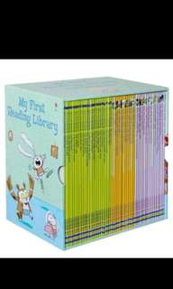Pre order till 21st July. Usborne My First Library