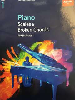🚚 ABRSM GRADE 1 PIANO SCALES AND BROKEN CHORDS