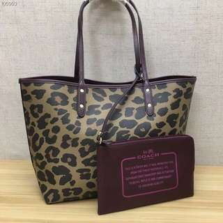 AUTHENTIC COACH RIVERSIBLE CITY TOTE