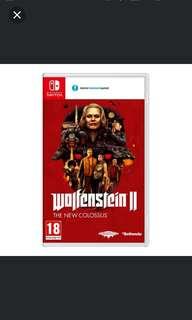 Switch Wolfenstein 2 The New Colossus