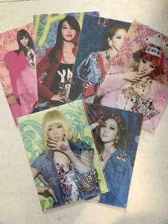 KPOP 絕版 少女時代SNSD官方周邊 I Got A Boy 文件夾Folder Seohyun / Sooyoung / Tiffany / Yoona / Jessica / Taeyeon
