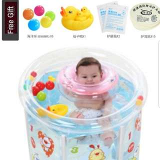 New Baby Swimming Pool (Free gifts set)