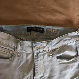 Baby Blue Jeans Highwaist