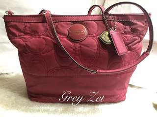 Must Go!!!!Reduced Price! Pre Loved Authentic Coach Bag