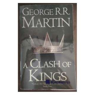 A Clash of Kings : by George R. R. Martin