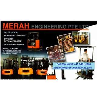 Forklift (Diesel/Electric) _ Stacker _ Reach Truck