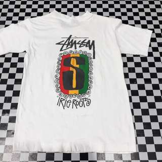 Vintage 90s Stussy tribe - irie roots - kids size M