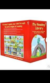 Pre order till 21st July - Usborne My reading library