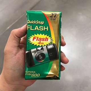 Fujifilm Quicksnap Flash Xtra 800 Disposable Camera