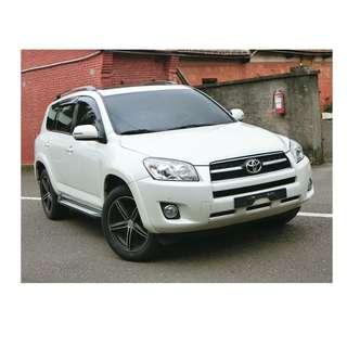 2010年 Toyota RAV4   白✅0頭款 ✅免保人✅低利率✅低月付 FB搜尋:阿源 嚴選二手車/中古車買賣