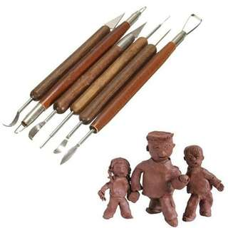 Clay sculping tools