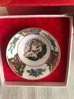 Chinese collectible mini bowl