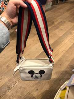 AUTH Cath Kidston × Mickey Mouse Sling Bag