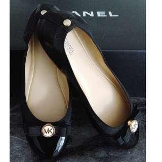 NEW MICHAEL KORS Black Ballerina Flats Shoes