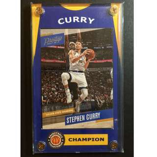 Stephen Curry Sports Card - Warriors NBA Finals Champion