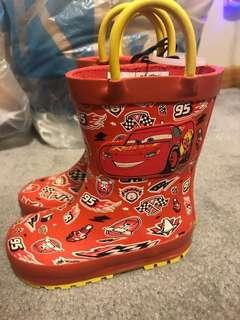(美國購入)全新閃電麥坤 兒童雨鞋 雨鞋