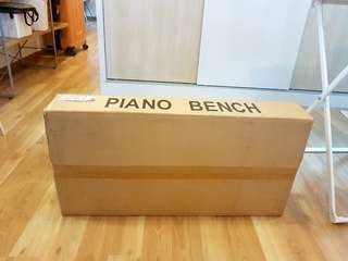 BRAND NEW PIANO BENCH FOR SALE