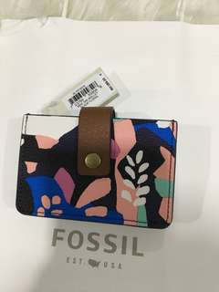 Fossil Wallet card