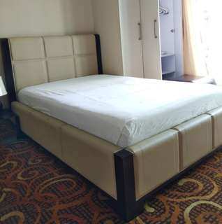 Bed and Mattress with Free linens