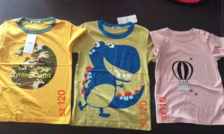 New kids cotton T-shirt (1pc)