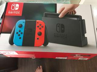 Nintendo switch almost brand new with nyko case