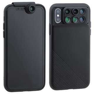 Shiftcam 2.0 六合一鏡頭手機殼旅行組合套裝 (Apple IPhone X)