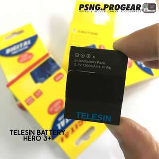 TELESIN Battery for GoPro Hero 3+