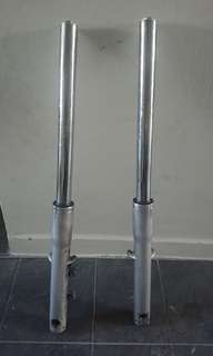 Progressive Honda shadow forks