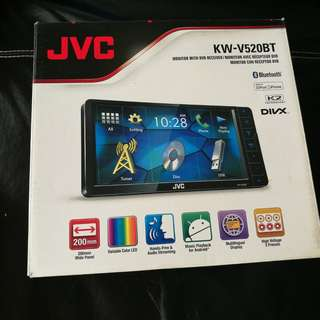 JVC Head Unit & JBL Speakers