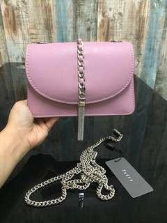 PEDRO Pinky Chain Tassel Slingbag