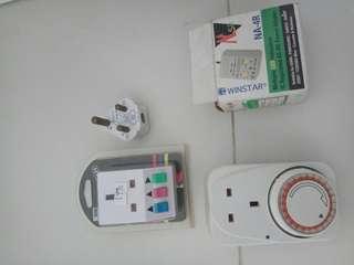 Plugs and timer plug
