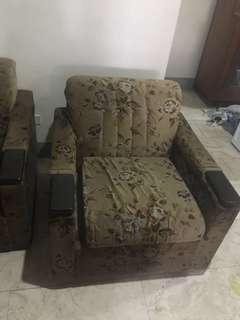 2pcs Single sofa
