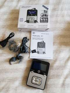 Yasmin DAB Radio Walk Radio K1 +16GB  SEE PHOTO
