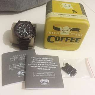 Fossil Watch (Brown)