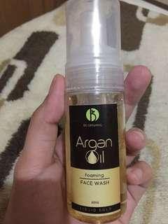 Be Organic Argan Oil Foam Facial Wash
