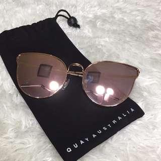 Quay Pink Sunglasses