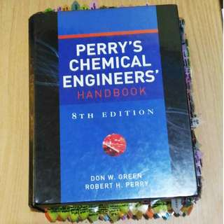 Perry's Chemical Engineers Handbook 8th Ed