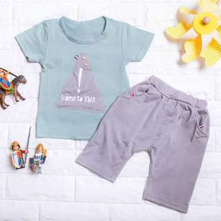 🚚 Instock - 2pc casual set, spring summer 2018 collection