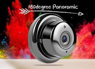 🚚 Fisheye cctv cam 180 degree wide angle always available