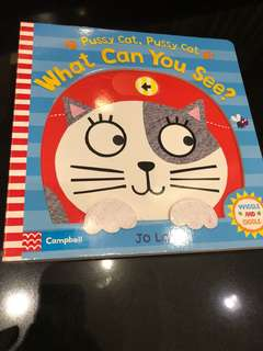 Campbell Books - Pussycat What Can You See