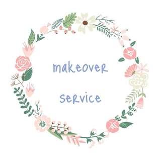 🚚 make up artist servce