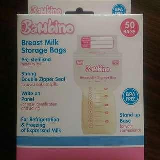 Bambino Breast Milk Storage Bags