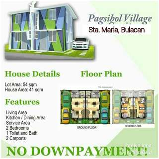 Soon to Open Duplex for Sale in Sta. Maria Bulacan