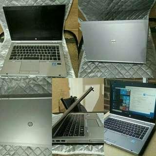 Obral laptop second mulus berkualitas hp 8470p i7 ram 4gb hdd 320gb vga radeon 1 gb