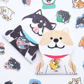 🐶BN INSTOCK Adorable Light Brown Shiba Inu Stickers