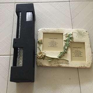 Vase and photo frame